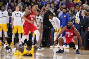 "NBA: Μυθικός Χάρντεν! ""Σκότωσε"" τους Γουόριορς με τρομερό τρίποντο-μαχαιριά – video"