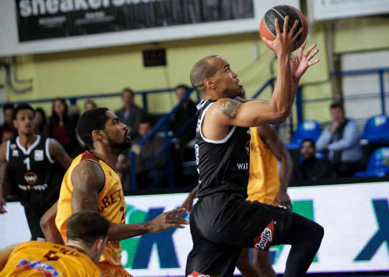 """Basket League: """"Άλωσε"""" το Ρέθυμνο ο ΠΑΟΚ με """"μυθικό"""" Χάτσερ! Νίκες για Κύμη και Προμηθέα"""