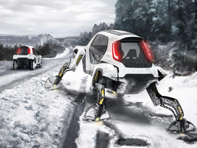 Hyundai Elevate: Ένα όχημα διάσωσης βγαλμένο από το… Star Wars! [vid] | Newsit.gr