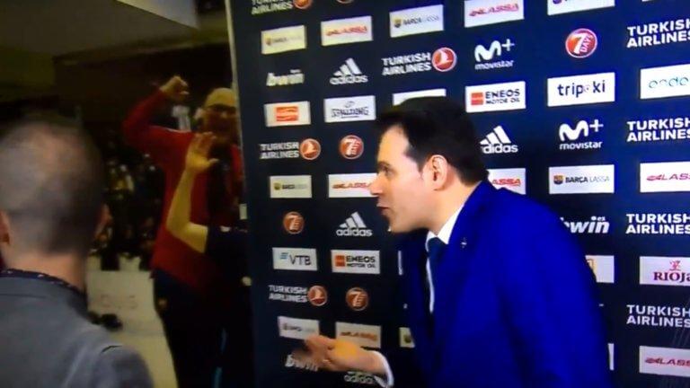 Euroleague: Φραστική επίθεση στον Ιτούδη από τον GM της Μπαρτσελόνα! Πως αντέδρασε – video