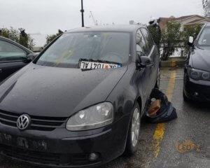 """Θεσσαλονίκη: Είδαν Σκοπιανές πινακίδες σε αυτοκίνητο και… τις """"ξήλωσαν"""""""