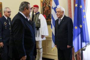 Καμμένος - Παυλόπουλος