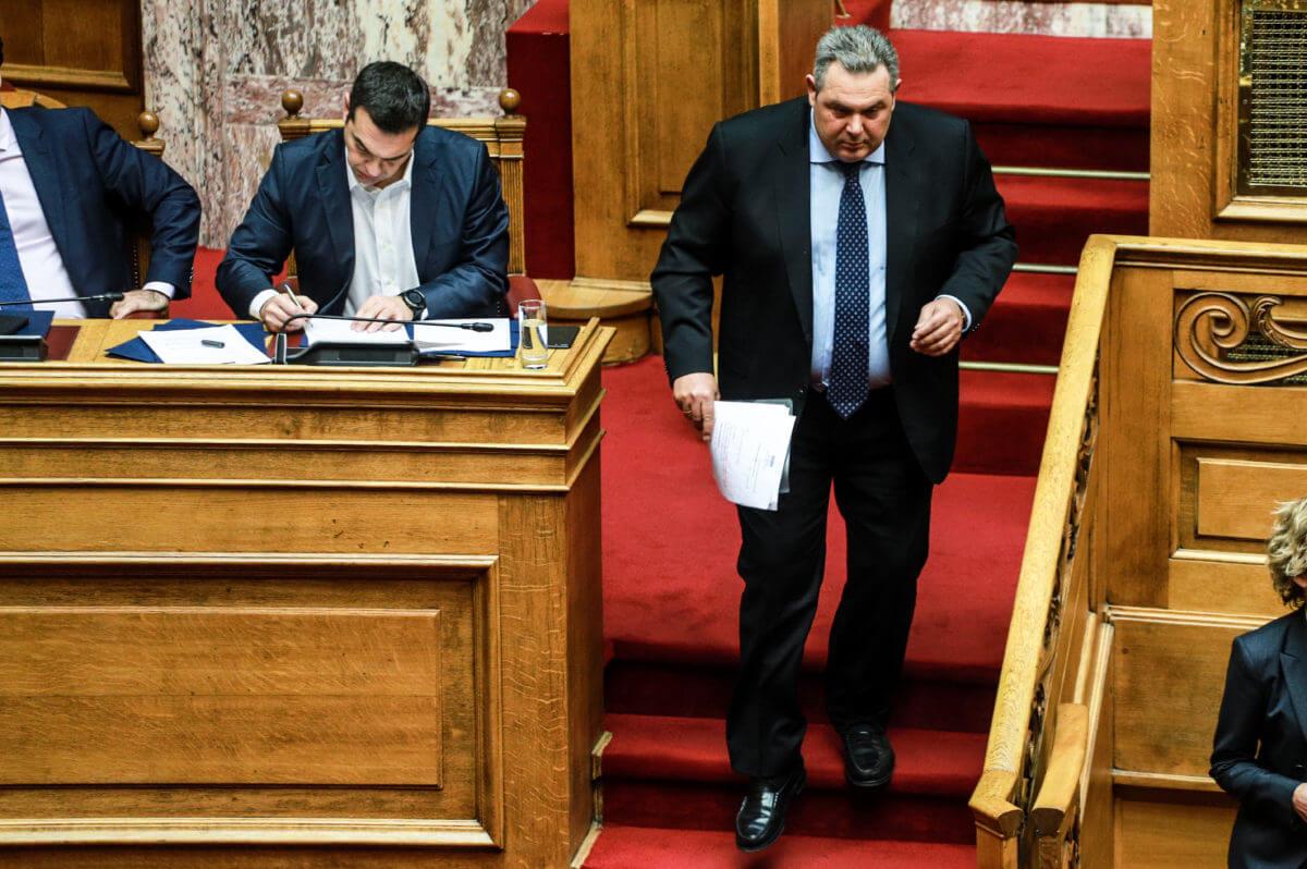 Καμμένος: Ο Τσίπρας δεν σεβάστηκε τα 4 χρόνια συνεργασίας μας