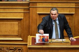 Καμμένος: Νέες αιχμές για παρεμβάσεις στην δικαιοσύνη από συμβούλους της κυβέρνησης