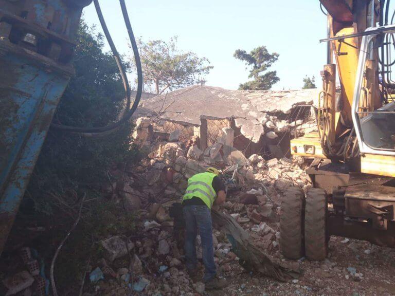 Χανιά: Οι μπουλντόζες πιάνουν δουλειά – Ανακοινώθηκε η κατεδάφιση παραπήγματος!