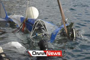 Μεσολόγγι: Ανελκύθηκε το αεροσκάφος του άτυχου πιλότου, Παναγιώτη Κεφαλά – video, pics