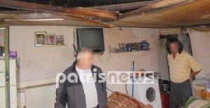 Εικόνες – γροθιά στο στομάχι! Αδέρφια ζουν σε ετοιμόρροπο σπίτι χωρίς ρεύμα
