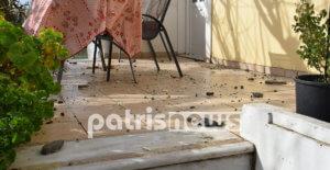 Ηλεία: «Κεραυνοβολήθηκε το σπίτι μου» – Οι ζημιές και οι στιγμές που θα θυμάται για πάντα – video