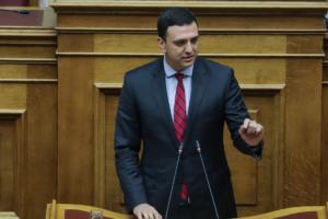 """Κικίλιας: """"Ο Τσίπρας κυβερνά «λάθρα» – Κυβέρνηση «οπερέτα» με 151 πρόθυμους"""""""