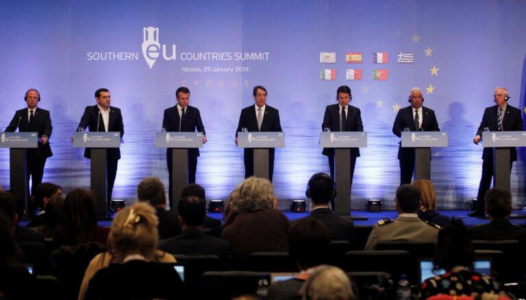"""Κύπρος: Οι ηγέτες του Νότου τραβούν το """"αυτί"""" του Ερντογάν – """"Πρέπει να σεβαστεί το διεθνές δίκαιο"""""""