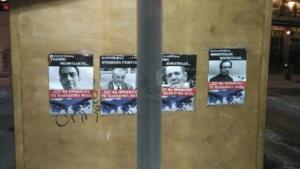 Μακεδονία: Τέσσερις συλλήψεις για τις αφίσες κατά πολιτικών