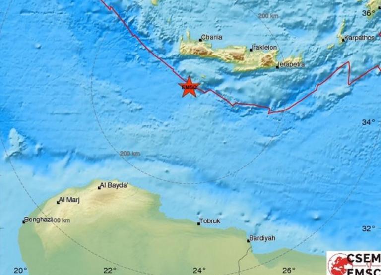 Σεισμός 4,6 ρίχτερ στην Κρήτη | Newsit.gr