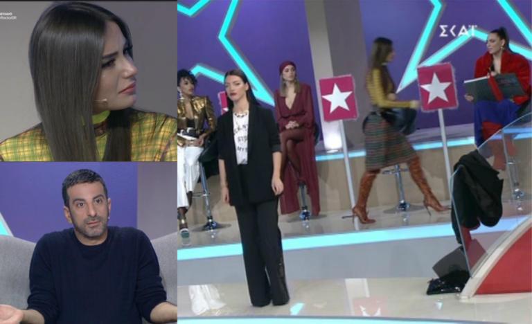 My Style Rocks: Ξέσπασε ο Στέλιος Κουδουνάρης! Κλαίγοντας έφυγε η Μαρία Λέκα από το πλατό… | Newsit.gr