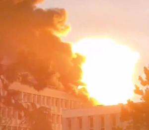 Έκρηξη σε πανεπιστήμιο της Λυόν – Οι πρώτες εικόνες