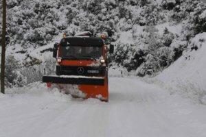 Χιονοπτώσεις στη δυτική Μακεδονία – Με καθυστέρηση η έναρξη των μαθημάτων στα σχολεία