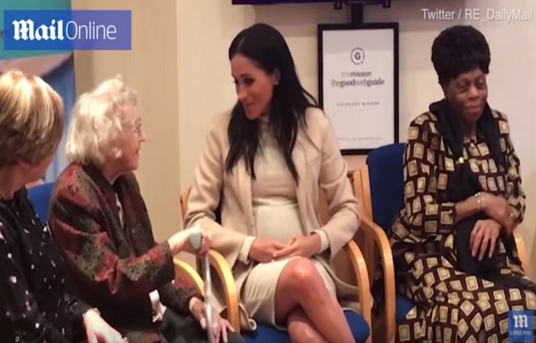 «Είσαι χοντρή»! Πώς αντέδρασε η Μέγκαν Μαρκλ στο σχόλιο συνταξιούχου – Video | Newsit.gr
