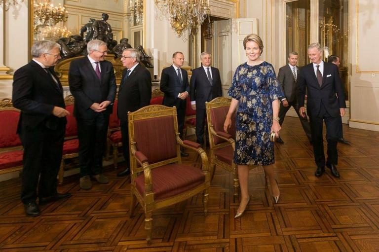 """Βασίλισσα Ματθίλδη: Χλιδάτη δεξίωση με """"υψηλούς"""" προσκεκλημένους! [pics]"""