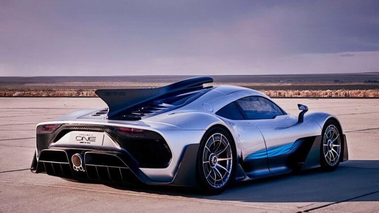 Κάθε λεπτομέρεια για την εξωτική Mercedes-AMG One των 1.000 ίππων [vid]