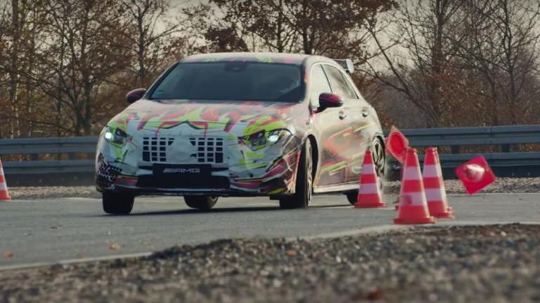 Η νέα Mercedes-AMG A45 θα έχει πολλά άλογα! | Newsit.gr