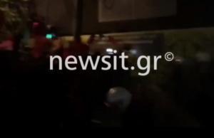 Επίσκεψη Μέρκελ: Επεισόδια και χημικά στο κέντρο της Αθήνας – video