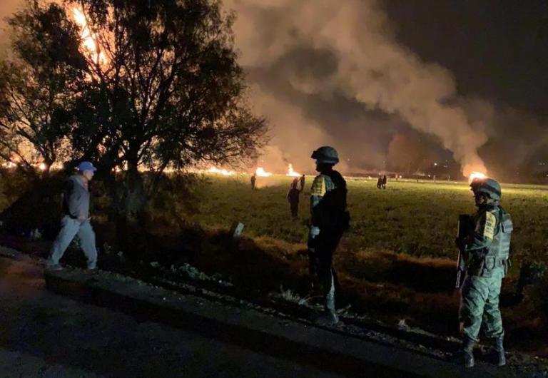 Μεξικό: Ανείπωτη τραγωδία – 79 οι νεκροί από την έκρηξη αγωγού πετρελαίου