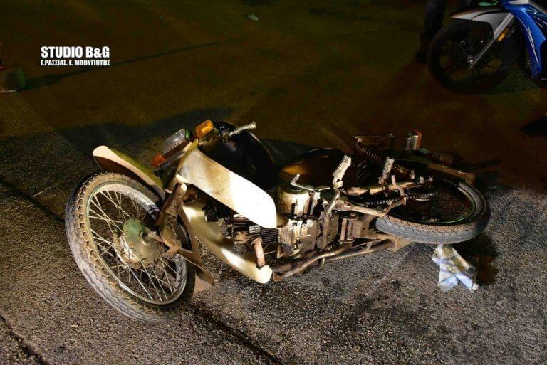 Ναύπλιο: Ένας τραυματίας σε σύγκρουση μηχανής με αυτοκίνητο – video