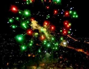 """Τρίκαλα: Εντυπωσιακή τελετή λήξης στον """"Μύλο των Ξωτικών"""" – Πυροτεχνήματα στόλισαν τον ουρανό – video"""
