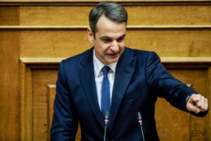 """Μητσοτάκης: Όποιος ψηφίσει """"Ναι"""" στρώνει τον δρόμο για την επιζήμια συμφωνία των Πρεσπών"""