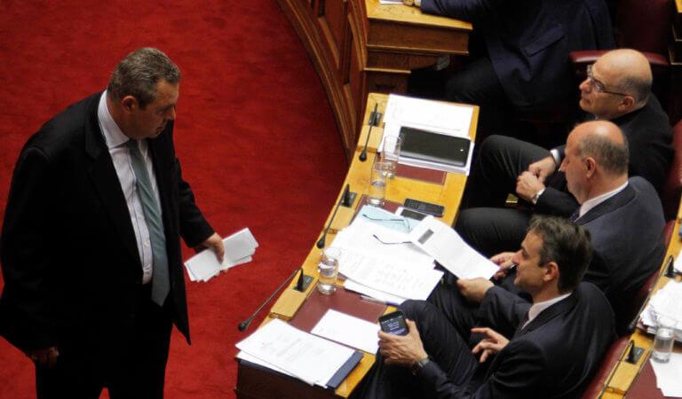 Καμμένος σε Μητσοτάκη: Ελάτε να παραιτηθούμε! Πηγές ΝΔ: Καλοδεχούμενη η δική σου παραίτηση | Newsit.gr