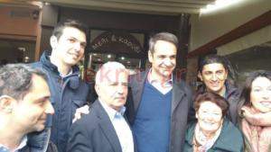 Κρήτη: Αποθεώθηκε ο Μητσοτάκης στις Μοίρες – Χειραψίες, selfies και πειράγματα [pics]