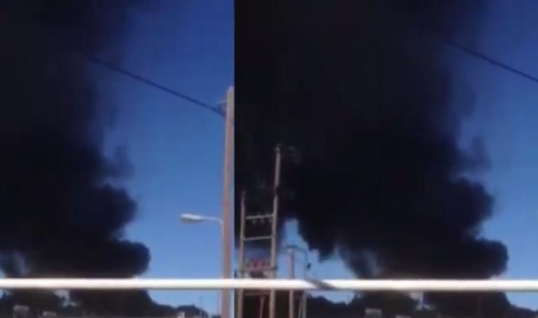 Φωτιά ξέσπασε στον καταυλισμό στη Μόρια! Σκοτείνιασε όλη η περιοχή – video