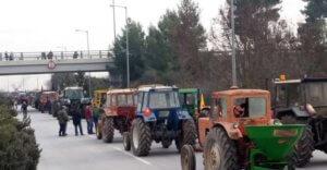 Έφτασαν στη Νίκαια τα πρώτα τρακτέρ – Άρχισαν οι αγροτικές κινητοποιήσεις – video