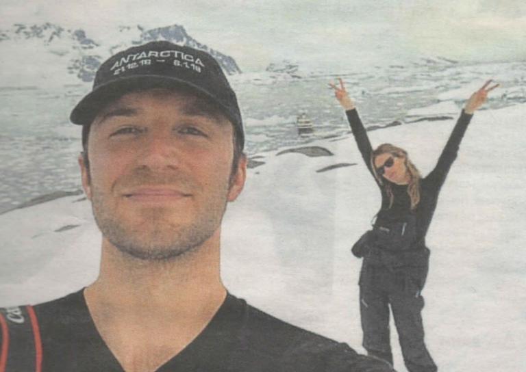 Τεό Νιάρχος – Camille Rowe: Ταξίδι στην Ανταρκτική για το ερωτευμένο ζευγάρι! | Newsit.gr