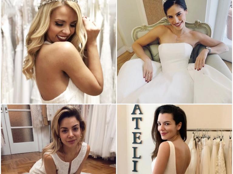 Οι κυρίες της εγχώριας showbiz ντύνονται νύφες για καλό σκοπό! [pics] | Newsit.gr