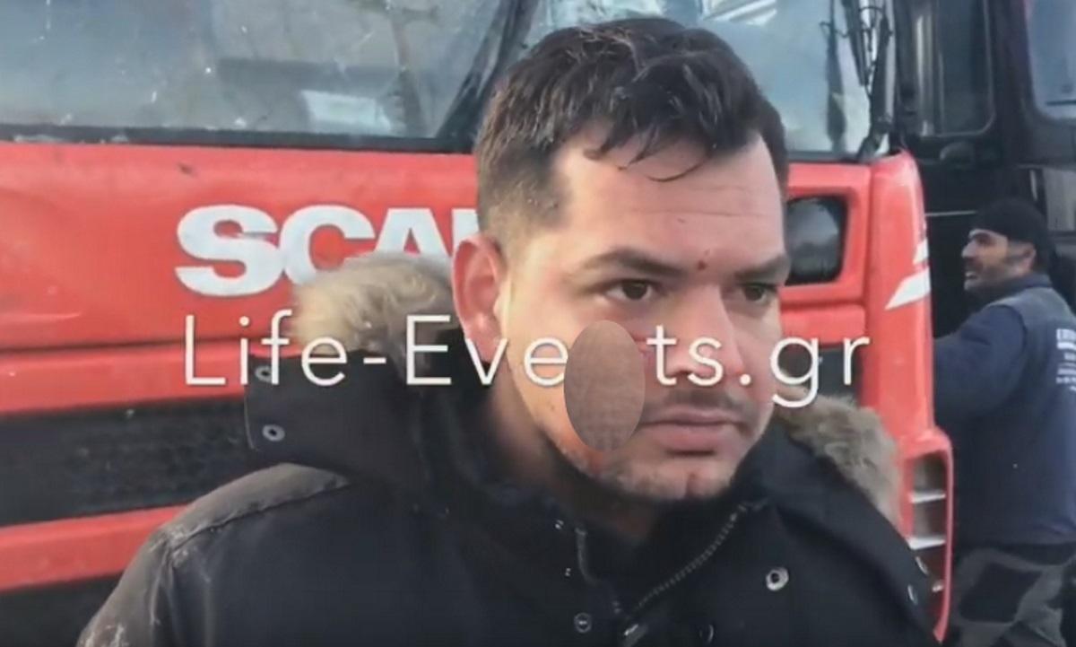 Θεσσαλονίκη: Ένας τραυματίας οδηγός σε επεισόδια με πρόσφυγες – video