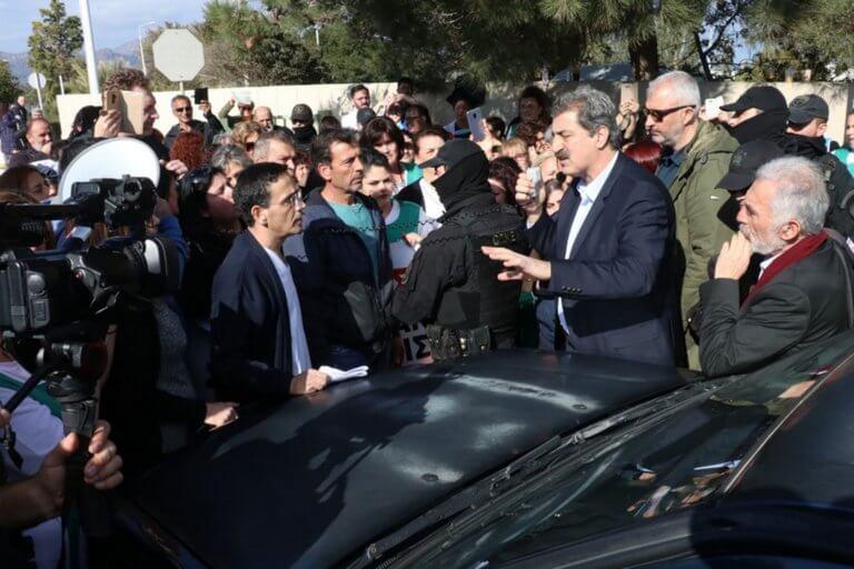 Κρήτη: Θερμή «υποδοχή» Πολάκη στο ΠΑΓΝΗ – video | Newsit.gr