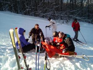 Πήλιο: Δύο τραυματίες στο χιονοδρομικό κέντρο [pics]