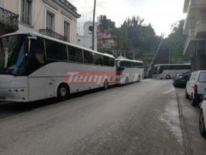Συλλαλητήριο – Μακεδονία: Ξεκίνησαν τα πούλμαν από Αχαΐα με προορισμό το Σύνταγμα – video