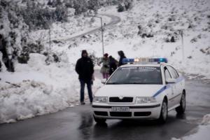 Καιρός: Χιονίζει στα ορεινά της Ηλείας, της Αχαΐας και της Αιτωλοακαρνανίας – Που διακόπηκε η κυκλοφορία!