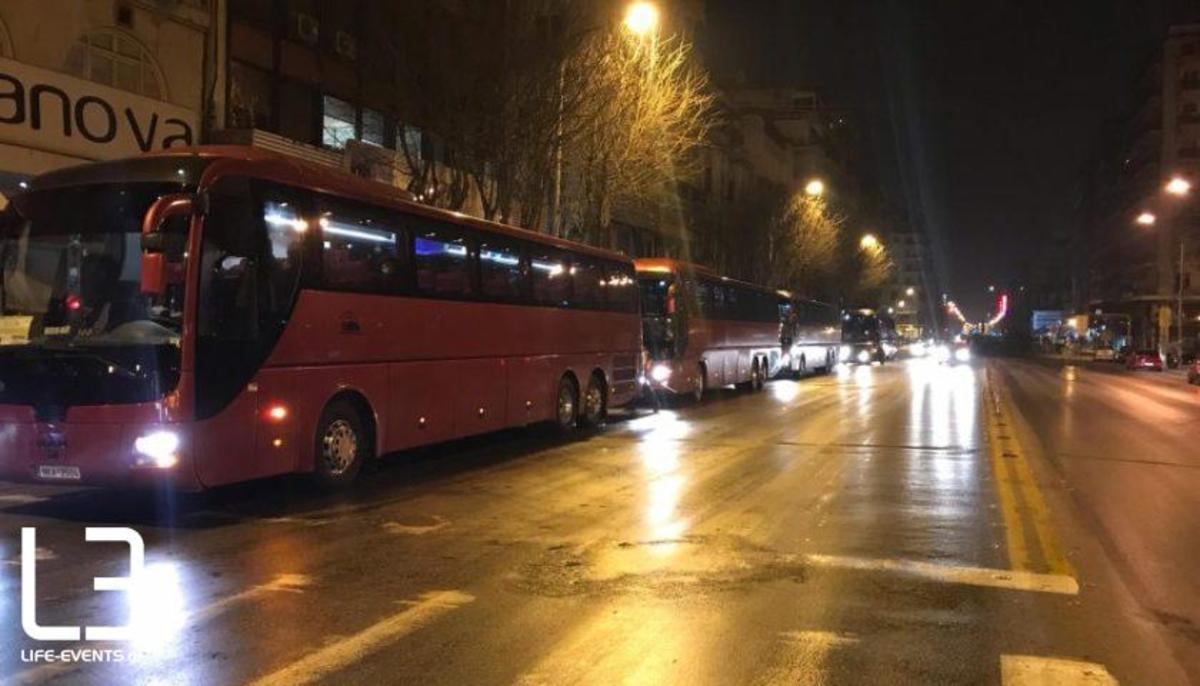 Συλλαλητήριο: Η Θεσσαλονίκη… έρχεται! Η αναχώρηση των πούλμαν – video