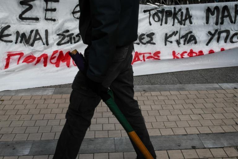 Συλλαλητήριο για την Μακεδονία: Αντισυγκέντρωση στα Προπύλαια [pics]   Newsit.gr
