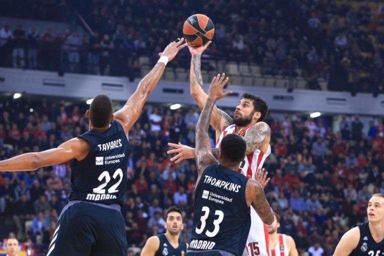 """Ρεάλ – Ολυμπιακός: Χωρίς Μιλουτίνοφ για το """"μπαμ"""" στη Μαδρίτη"""