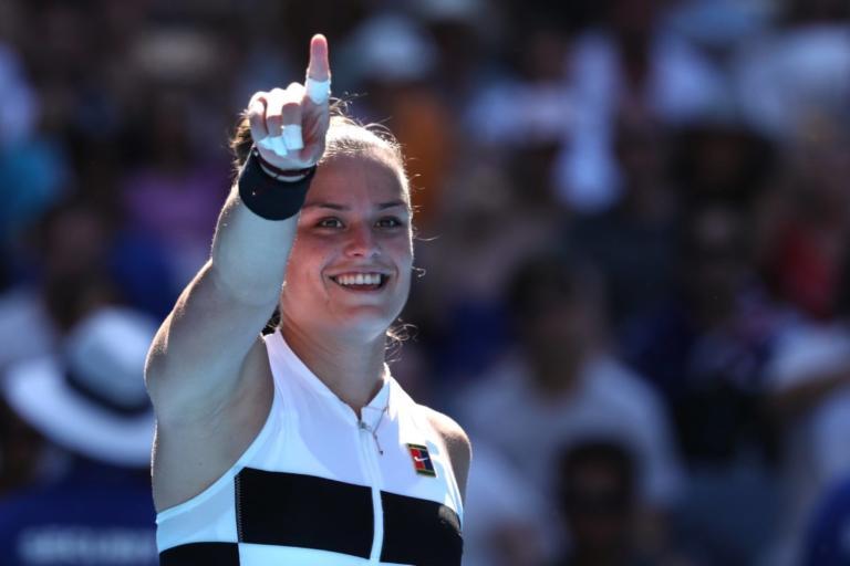 """Australian Open: Φοβερή Σάκκαρη! """"Καθάρισε"""" τη Σάρμα και προκρίθηκε στους """"32"""" – video"""