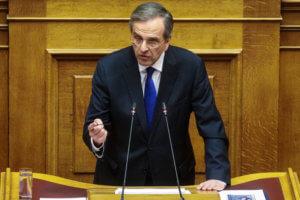 Σαμαράς: Η κυβέρνηση έγινε πιο Σκοπιανή των Σκοπιανών – Η Μακεδονία είναι μία και ελληνική!