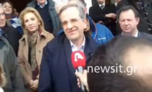 Συλλαλητήριο Μακεδονία: Αντώνης Σαμαράς… παρών – video