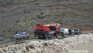 Χίος: Παρέμβαση εισαγγελέα για το φράγμα στο Σαράπιο