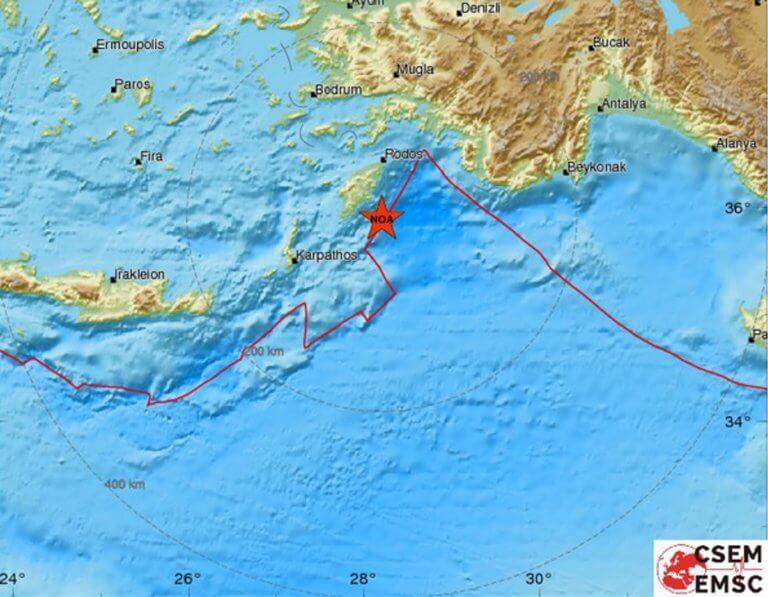 Σεισμός ΤΩΡΑ στη Ρόδο | Newsit.gr