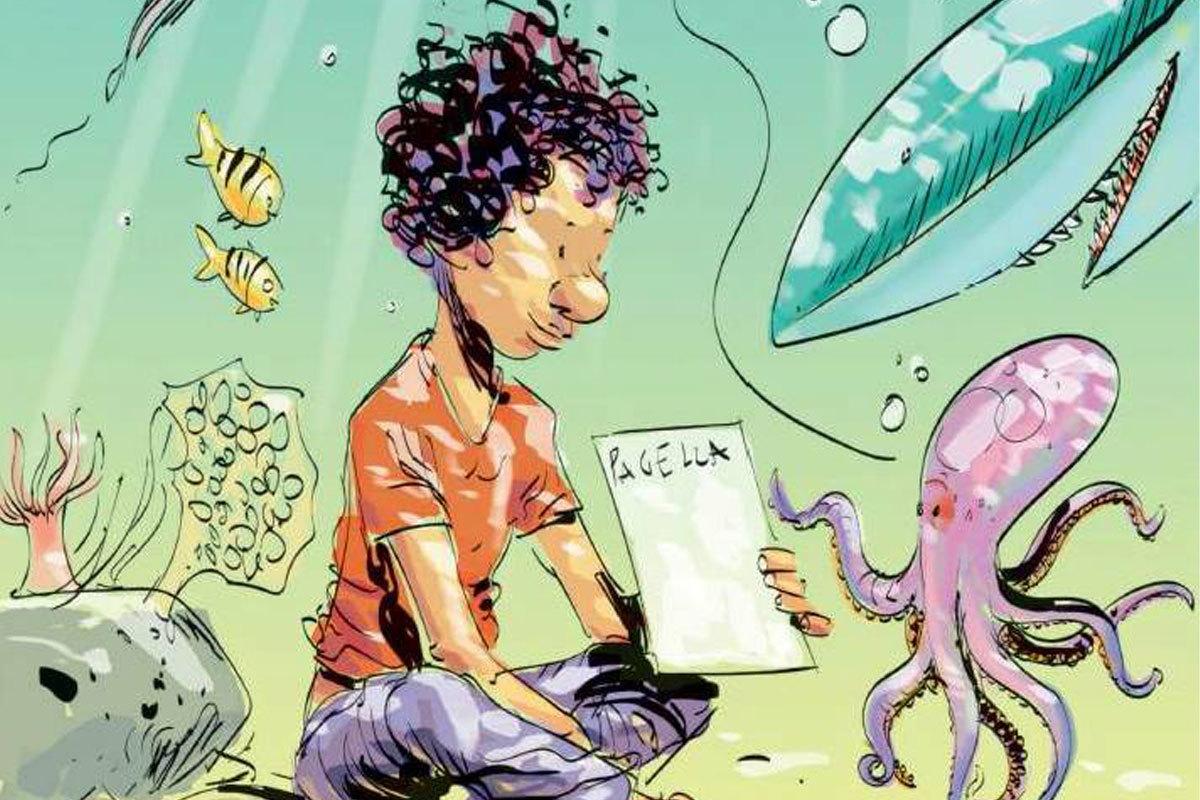"""Το παιδί χωρίς όνομα κι ένα σκίτσο που """"ρίχνει"""" το internet"""