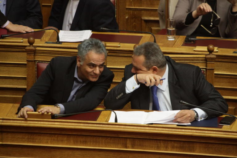 Σκουρλέτης προς Καμμένο: Δεν υπάρχει αποστασία, είναι κυβερνητικοί βουλευτές   Newsit.gr