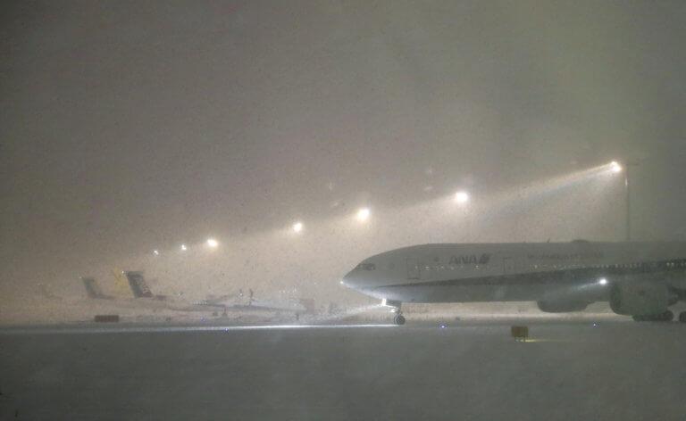 Ρωσία: Δεκάδες πτήσεις ακυρώθηκαν λόγω χιονιού